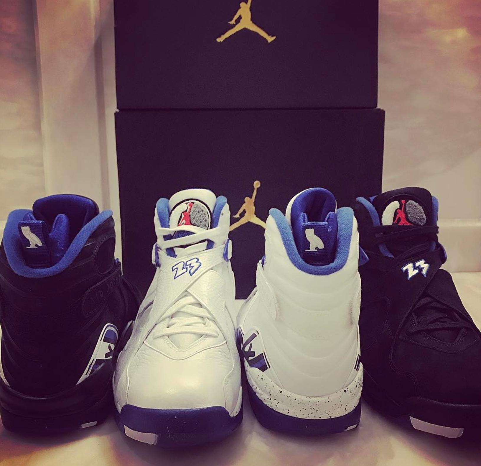 a62c163a737 ... Charles Oakley PE? air jordan OVO Jordan 8 CALIPARI PACK 2 · Jordan  Brand / Kicks On Court ...