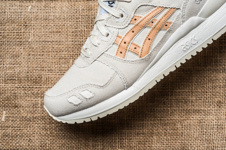 asics gel-lyte iii birch tan denim 5