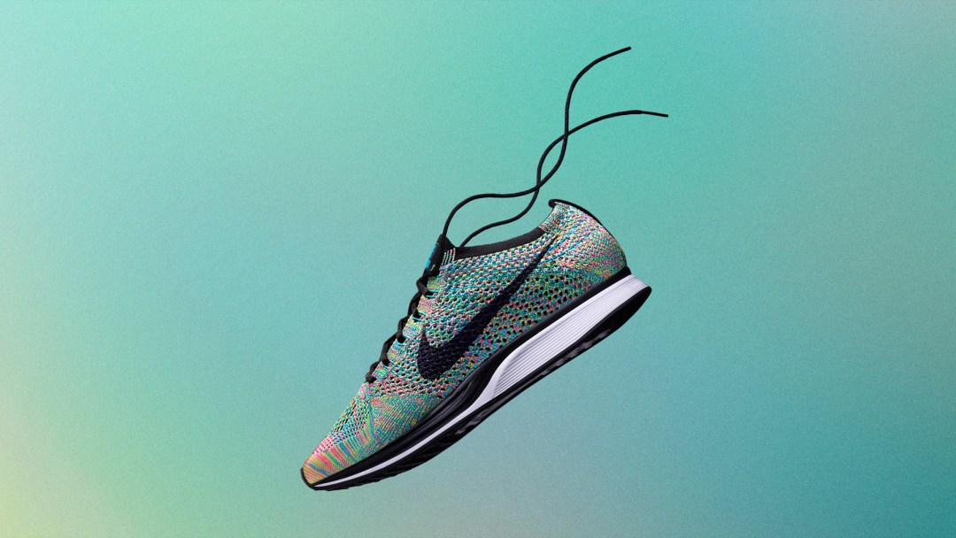 d097f021b66c The Nike Flyknit Racer  Multicolor  2.0 is Available Now Below ...