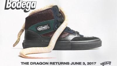 Bodega x Vans Vault 'Return of the Dragon' full cab half-cab 04