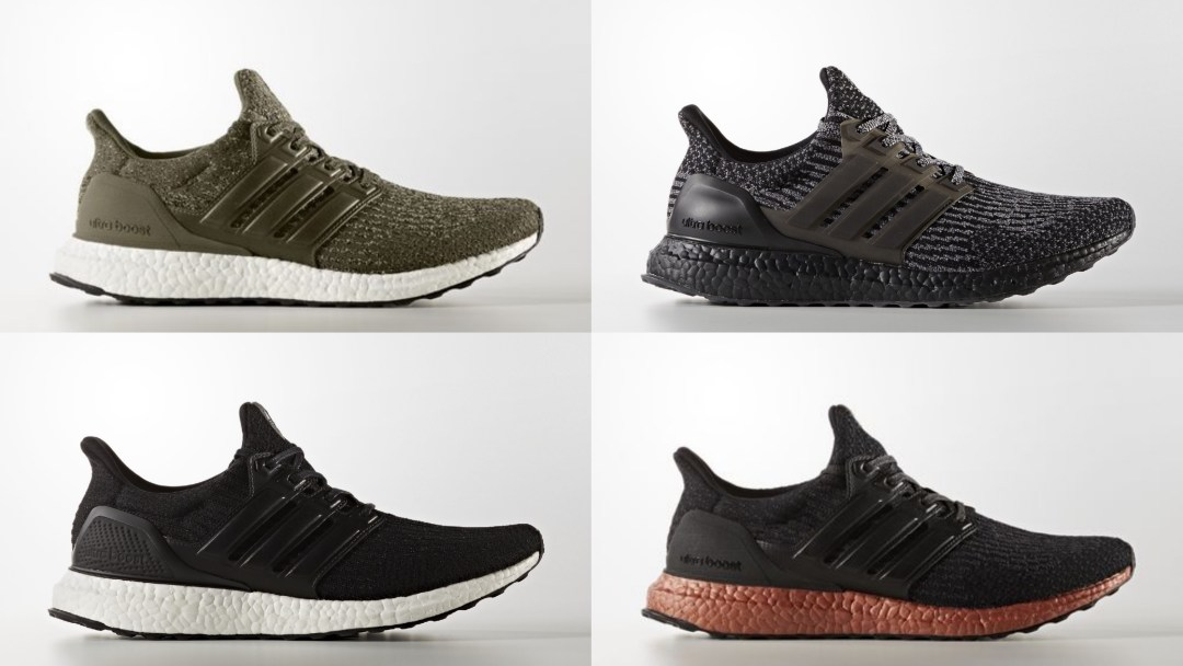 025db14da The adidas UltraBoost 3.0 Drops in Four Colorways - WearTesters