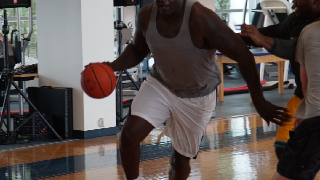 ba4ae74e4458 Shaq Hits the Hardwood in the New Reebok Shaq Modern - WearTesters