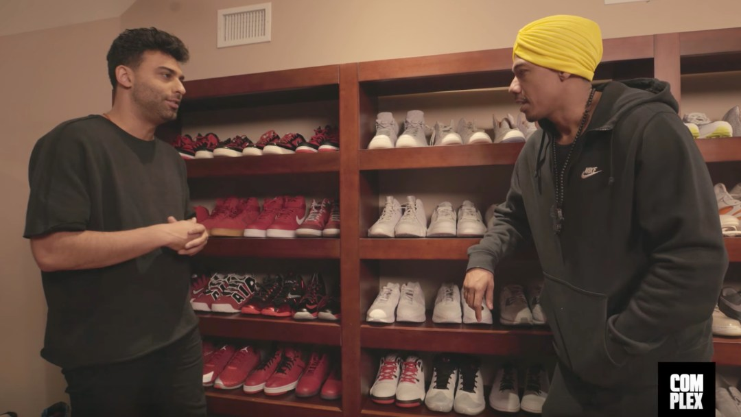 b84a452b718434 Complex Closets Checks Out Nick Cannon s Upcoming Wild  N Out Jordan ...