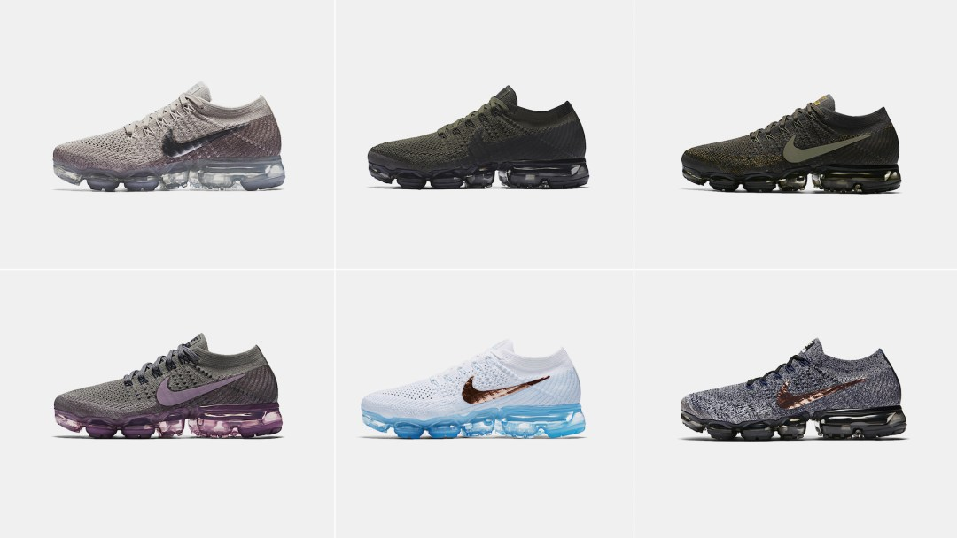 b381abdce9fb5 New Nike Air VaporMax Flyknit Colorways are Releasing Through Fall ...