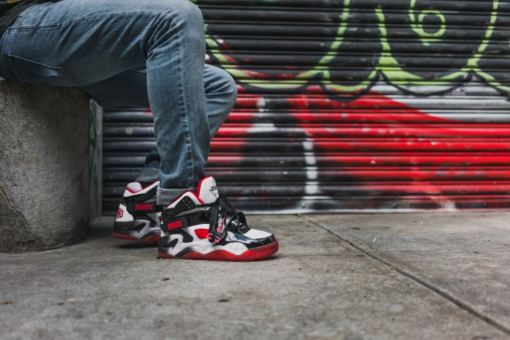 Ewing rogue white black red 23