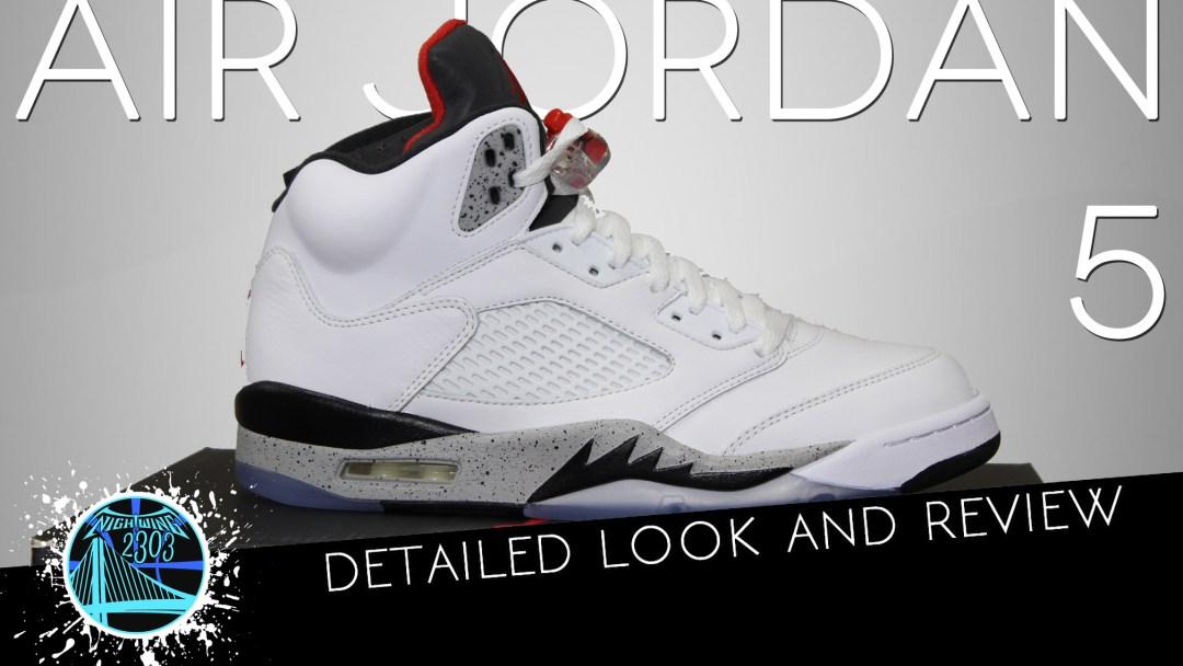 15af1992d29d71 Air Jordan 5 White Cement