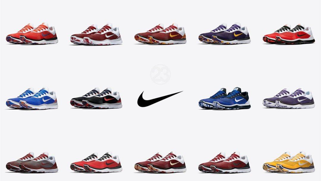 buy popular b4e93 c5e19 Gear Up for College Football with the Nike Free Trainer V7  Week ...