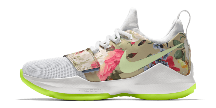 9dad612f050a You Can Now NIKEiD the Nike PG 1 with Floral Print - WearTesters