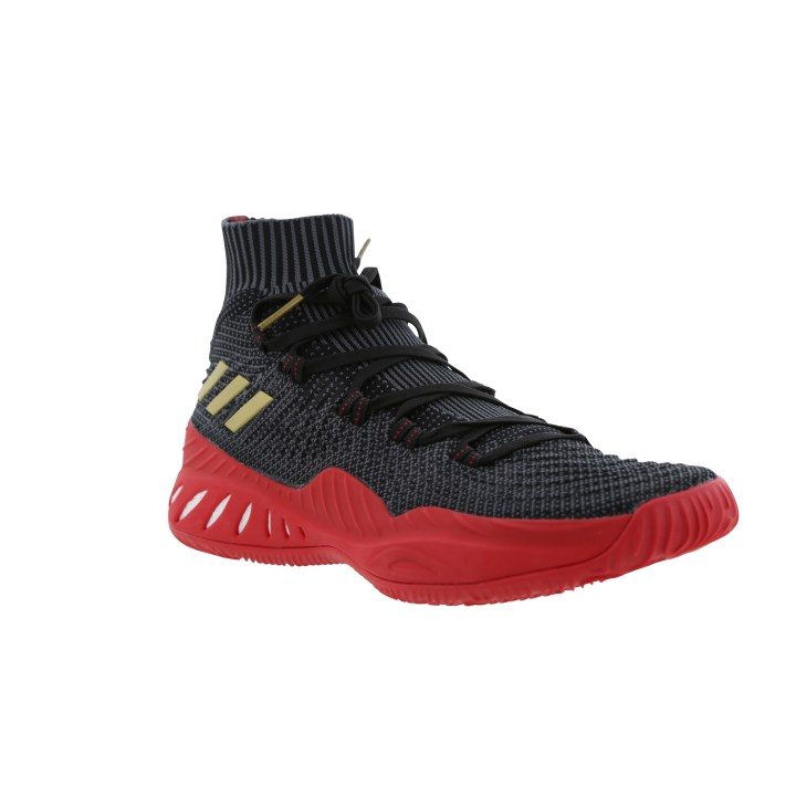 ba8d0abc36bf A New adidas Crazy Explosive 2017 Primeknit in Black Gold Scarlet is ...