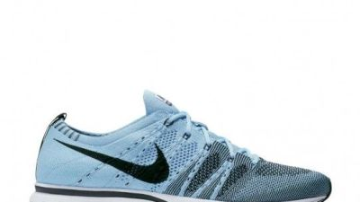 nike flyknit trainer circus blue 1