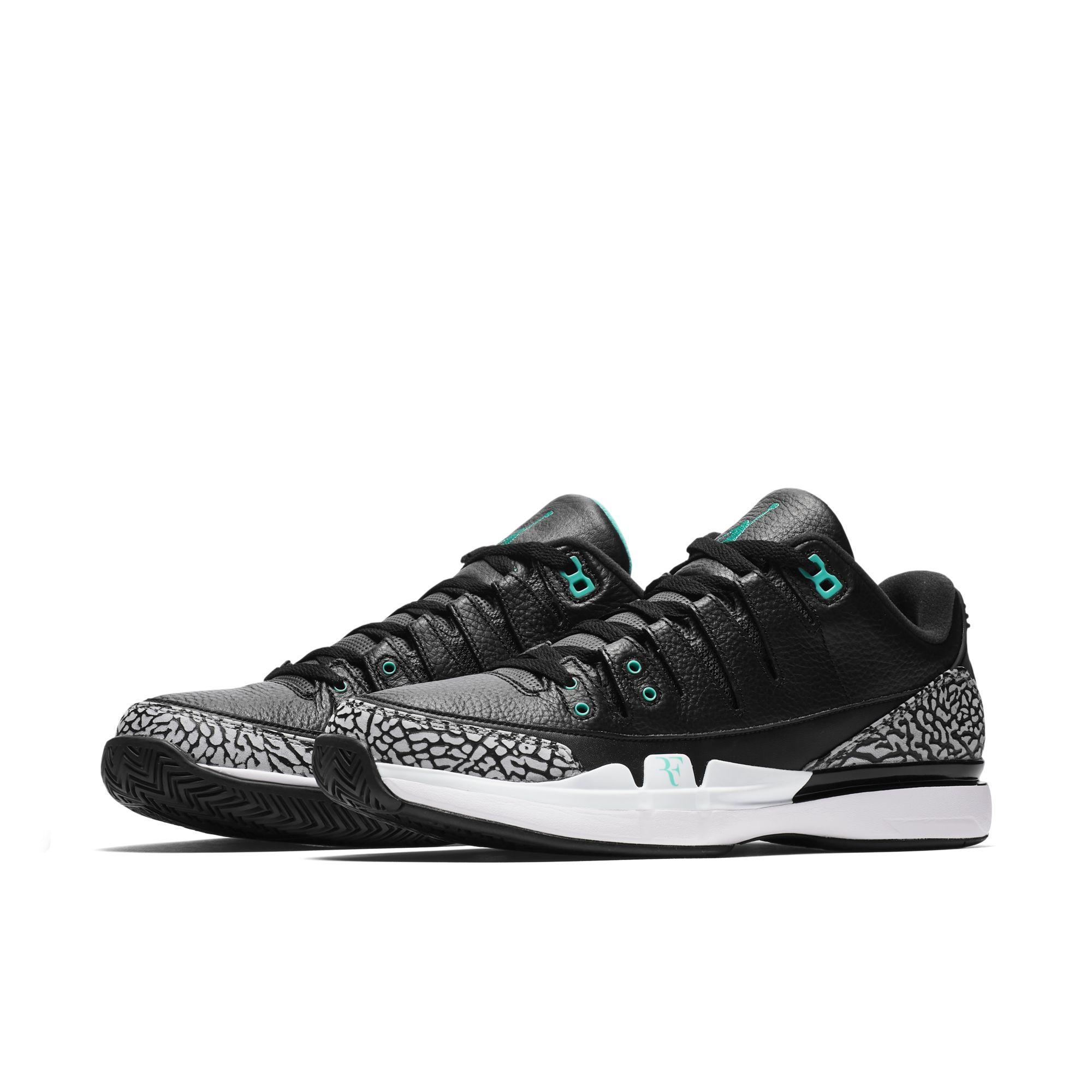 40c3f4821784 NikeCourt Zoom Vapor AJ3 roger federer 1 · Jordan Brand   Kicks Off Court    Nike   Tennis ...