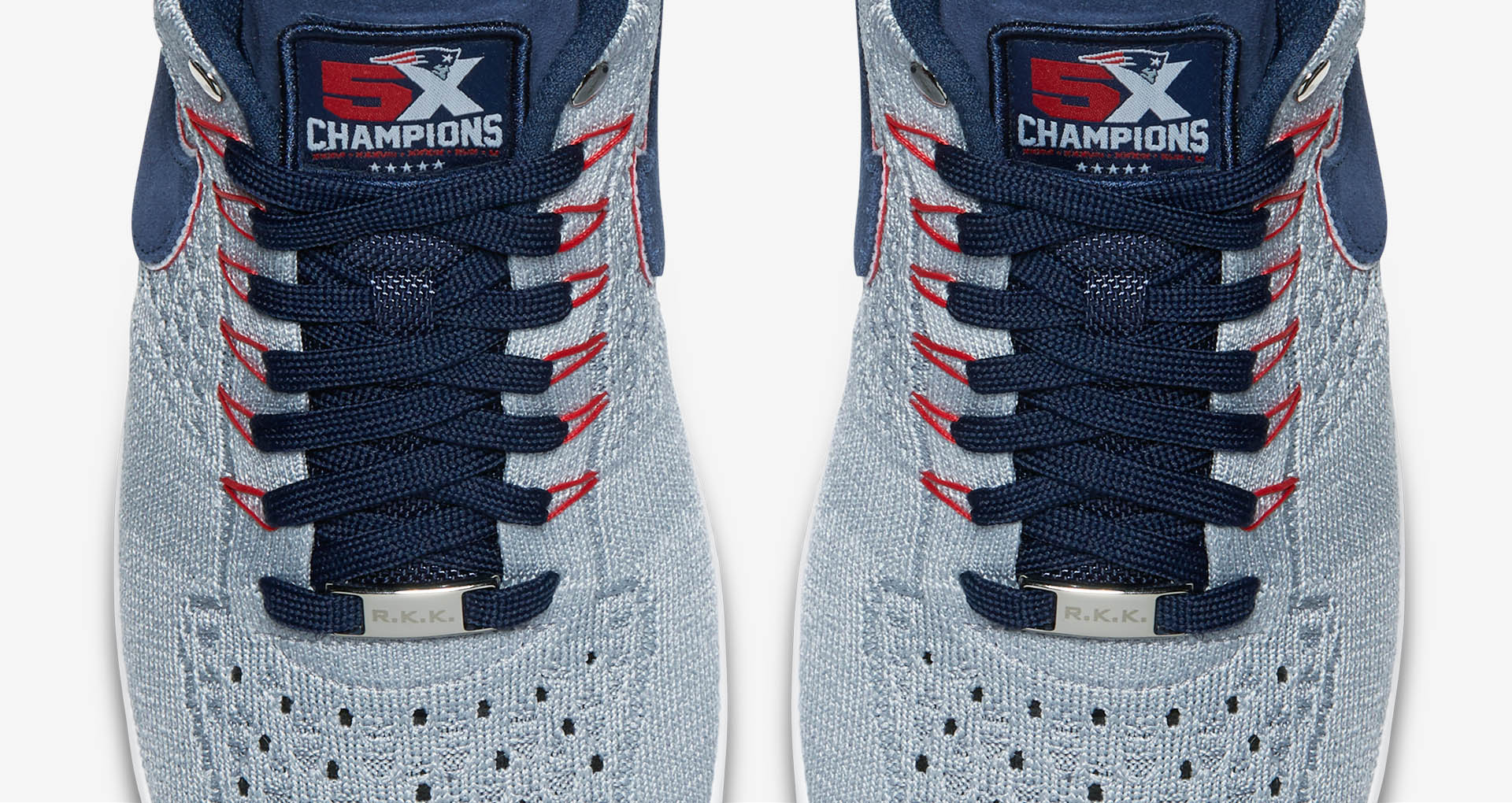 outlet store 3f407 d72e9 The Patriots Get Their Own Colorway of the Air Force 1 Ultra Flyknit Low-11