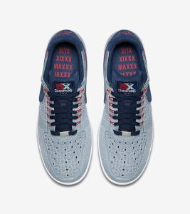 premium selection a9ab6 94982 The Patriots Get Their Own Colorway of the Air Force 1 Ultra Flyknit Low-4