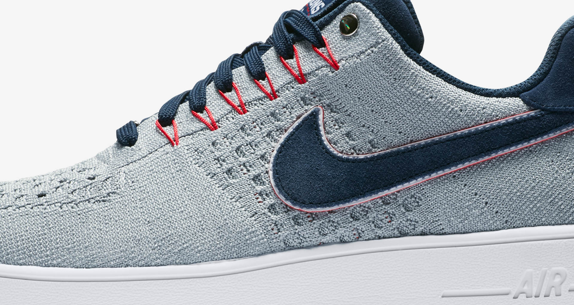sneakers for cheap 4d941 b0bcc The Patriots Get Their Own Colorway of the Air Force 1 Ultra Flyknit ...