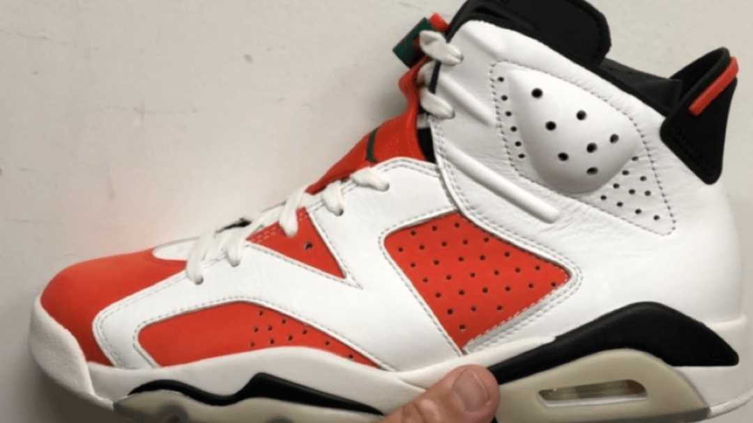 a829e022d010 Detailed Look at the Air Jordan 6  Gatorade  - WearTesters
