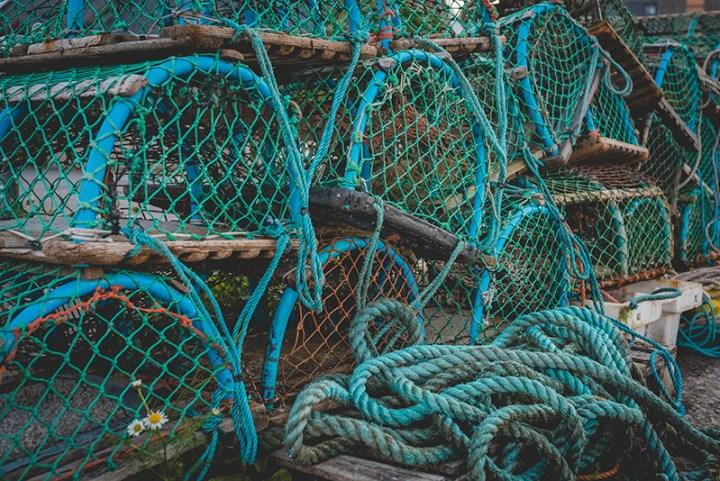 hanon new balance U520HNF fishermans blues 10