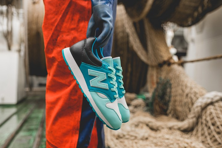 hanon new balance U520HNF fishermans blues 112