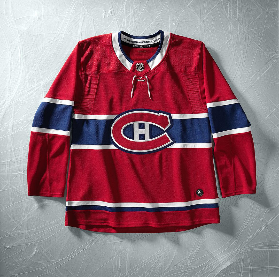 9741bb66d11 nhl adidas adizero Authentic Pro Hockey Jerseys montreal canadiens ...