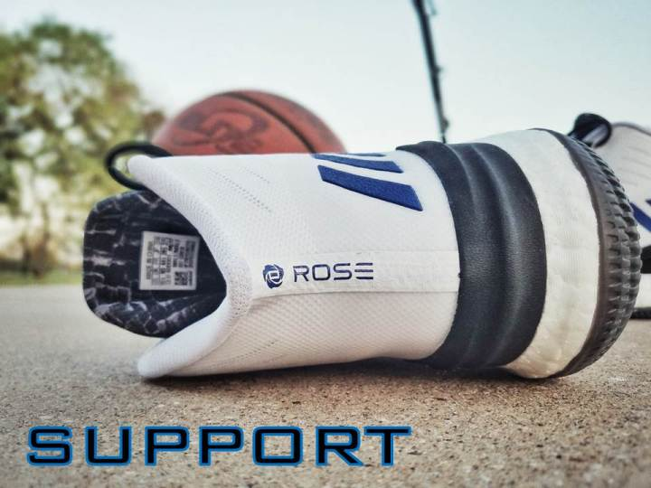 official photos 9de61 0be15 adidas d rose 8 performance review support