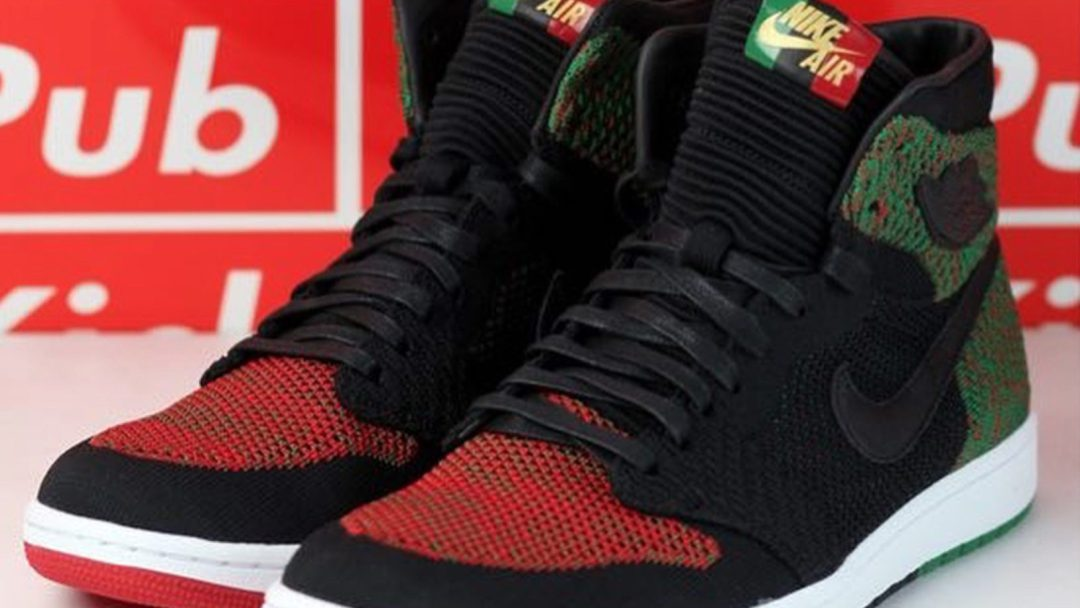 16666edfa5d64 An Early Look at the Air Jordan 1 Retro High Flyknit  BHM  - WearTesters
