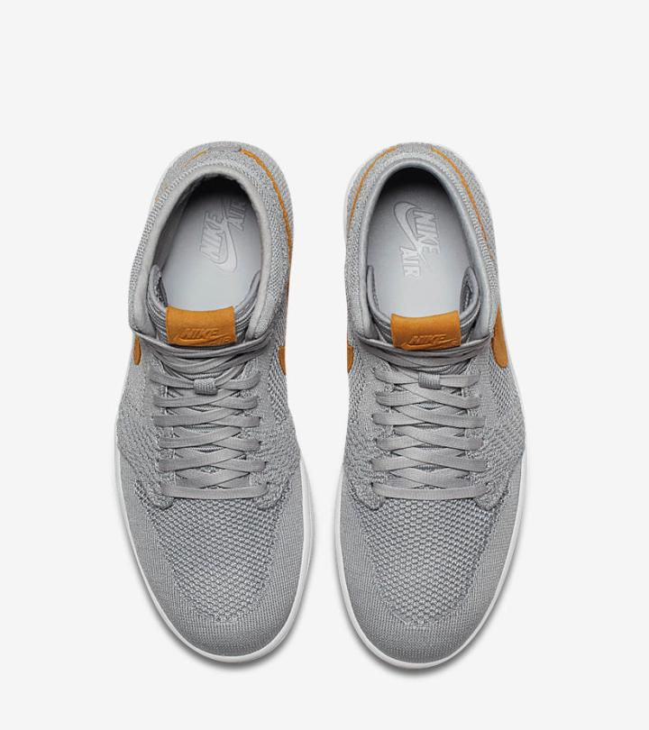 3c2e2eed22c6 Release Reminder  The Air Jordan 1 Flyknit  Wolf Grey  Drops Next ...