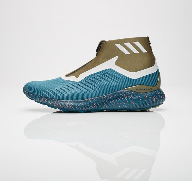 9d2b3f30f The adidas AlphaBounce Zip Drops in  Petrol Night  - WearTesters