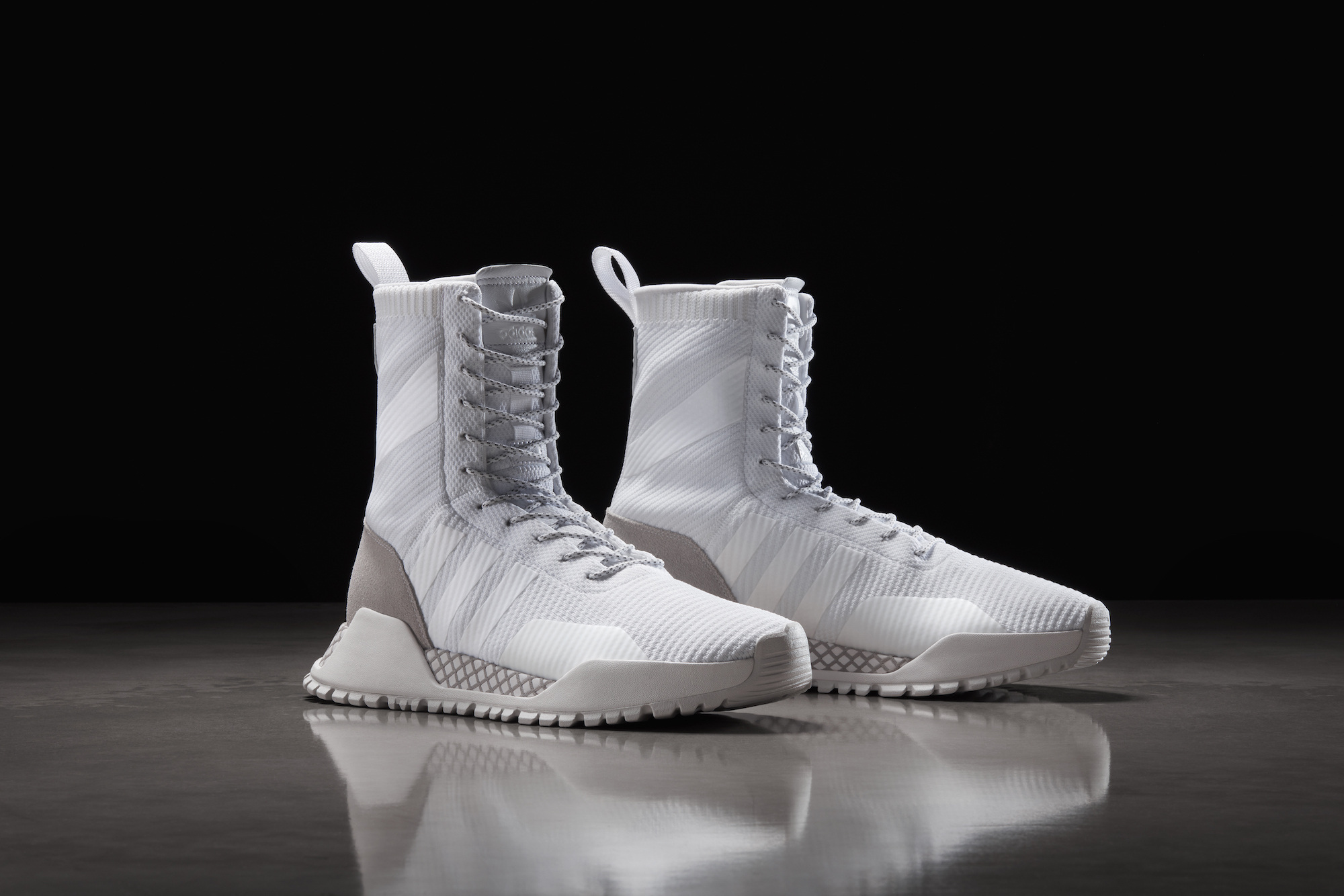 The adidas F1.3 is the Latest Three Stripes Sneakerboot