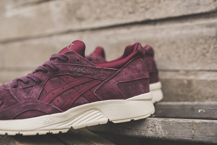 7d3afc11f912 The Asics Gel-Lyte V Gets Dressed in Eggplant and Taos Taupe for ...