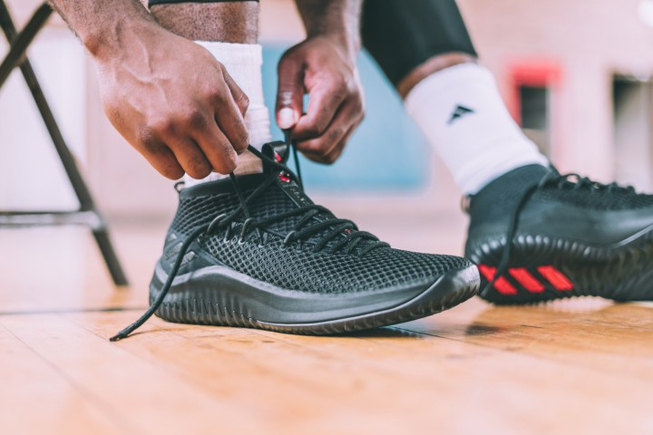 buy popular 9f0e6 bd73c Click HERE to pick up the adidas Dame 4 Dame Time for 115 at Eastbay.