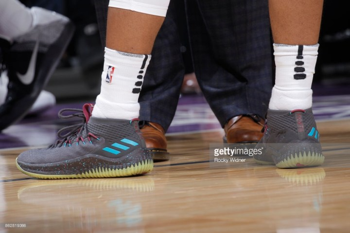 aee465ff56f6 The adidas Dame 4  Glow  Releases Next Week at Eastbay - WearTesters