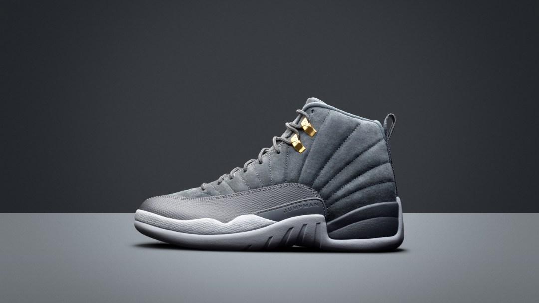 air jordan 12 dark grey 1