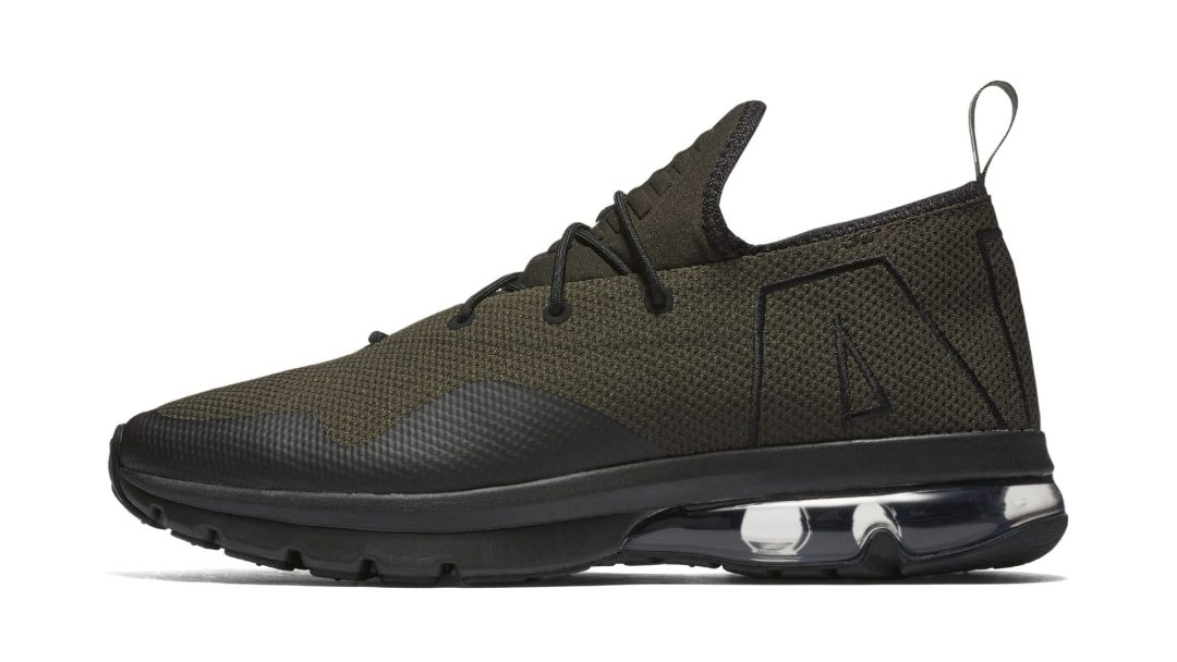 f3bb1a6a89 This Nike Air Max Flair Refresh Moves the Oversized Branding ...
