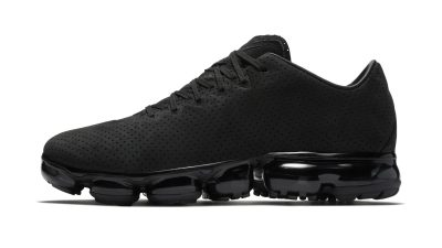 buy online 92197 ba08f The Nike Air Vapormax Leather Surfaces in Triple Black