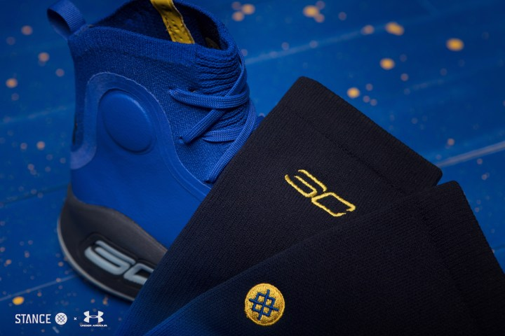 under armour Stance x Curry 4 Capsule socks 2