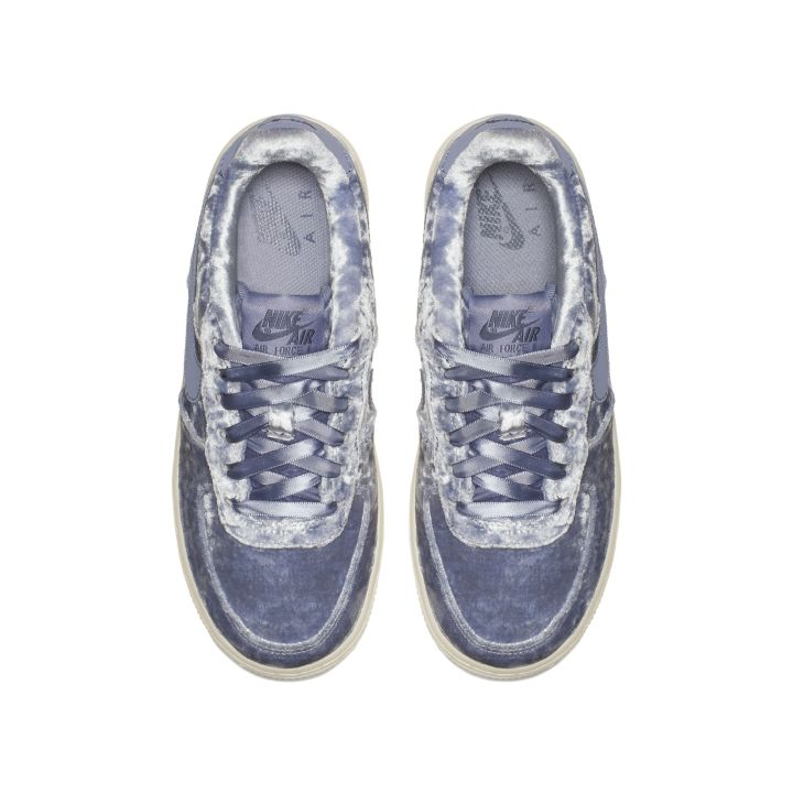 buy online a54e2 8ad37 velour nike air force 1 dark sky blue 3