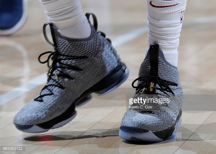 927a2e95b6ce4 Nike Adds Lateral Stability to LeBron James  LeBron 15 PE - WearTesters