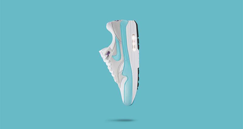 hot sale online 28ca9 30b54 Nike Air Max 1 Anniversary Aqua To Celebrate 30 Years of Air1