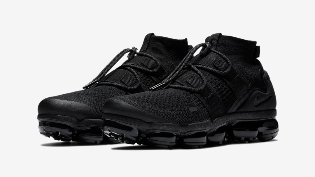 89b0c3c11b2 Nike Unveils the Air VaporMax Utility  Maximum Black  - WearTesters