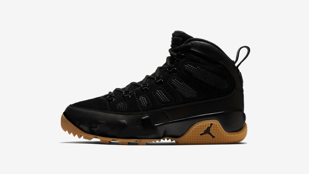 a48fa24372d The Air Jordan 9 Boot NRG in Black Gum Drops Today - WearTesters
