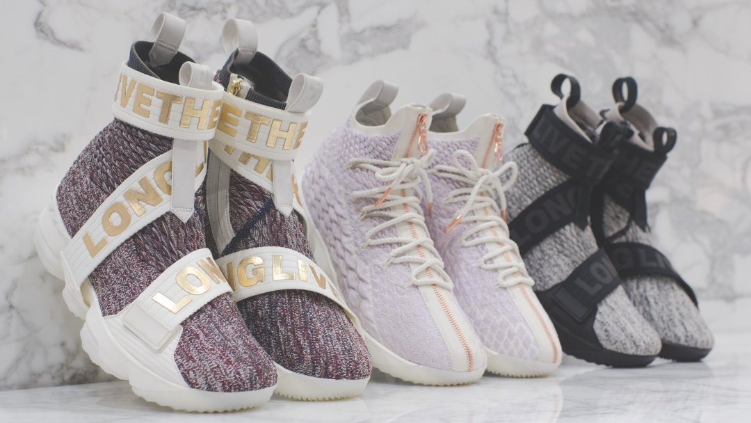630303c3d44 Kith Unveils its Entire Nike LeBron 15 LLTK Collection