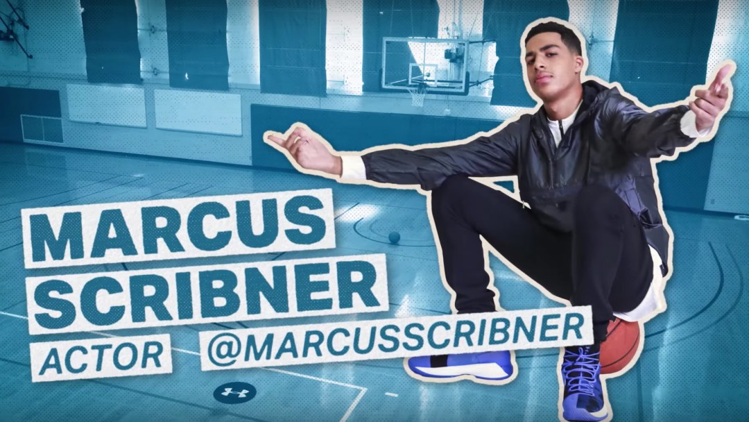 marcus scribner shoot your shot under armour