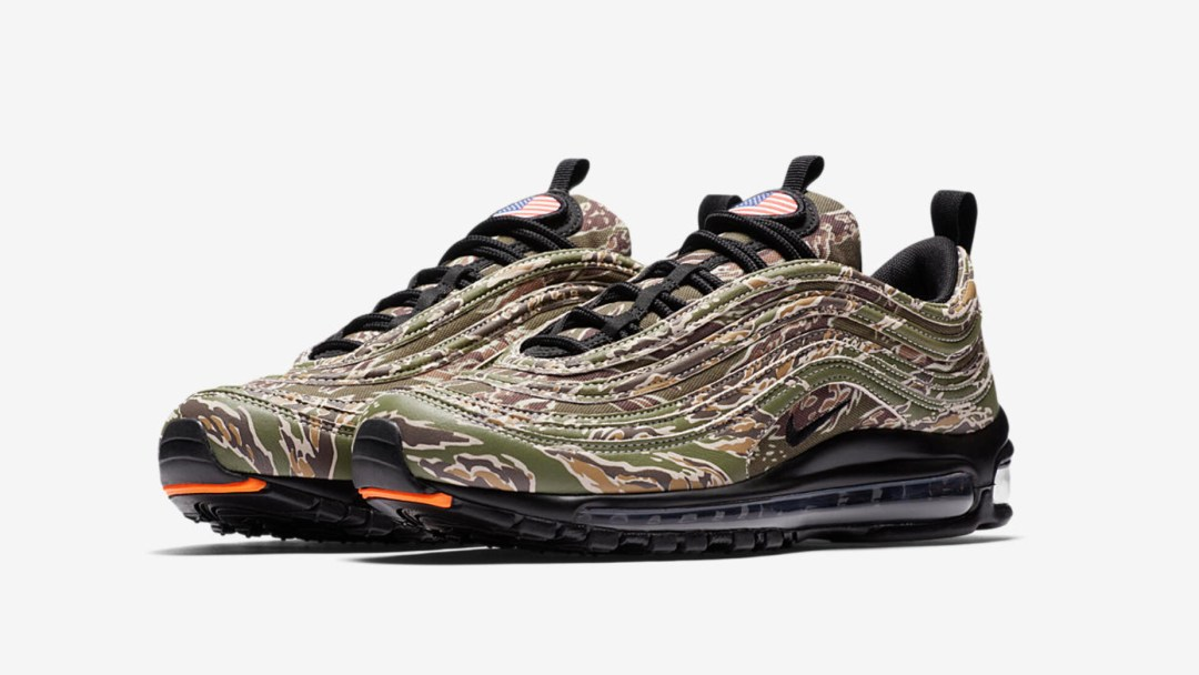 big sale b5403 016b1 nike air max 97 premium country camo USA 1