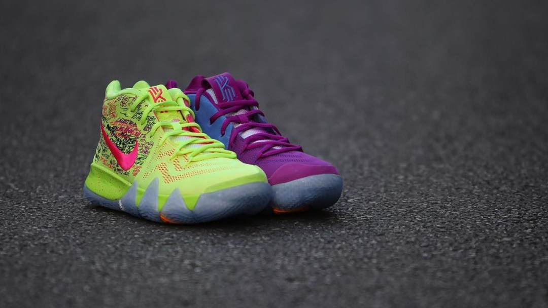 e72c77b7fe75 The Nike Kyrie 4  Confetti  is Releasing at Select House of Hoops ...