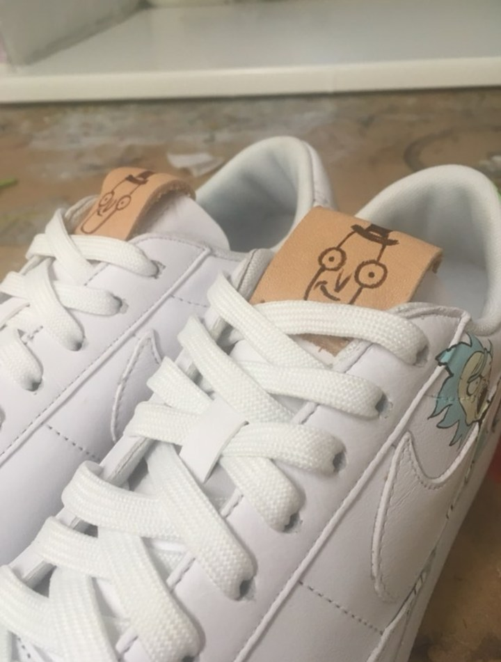Check Out These Rick and Morty Customs by Tornschuhjette - WearTesters 9ae126ffd