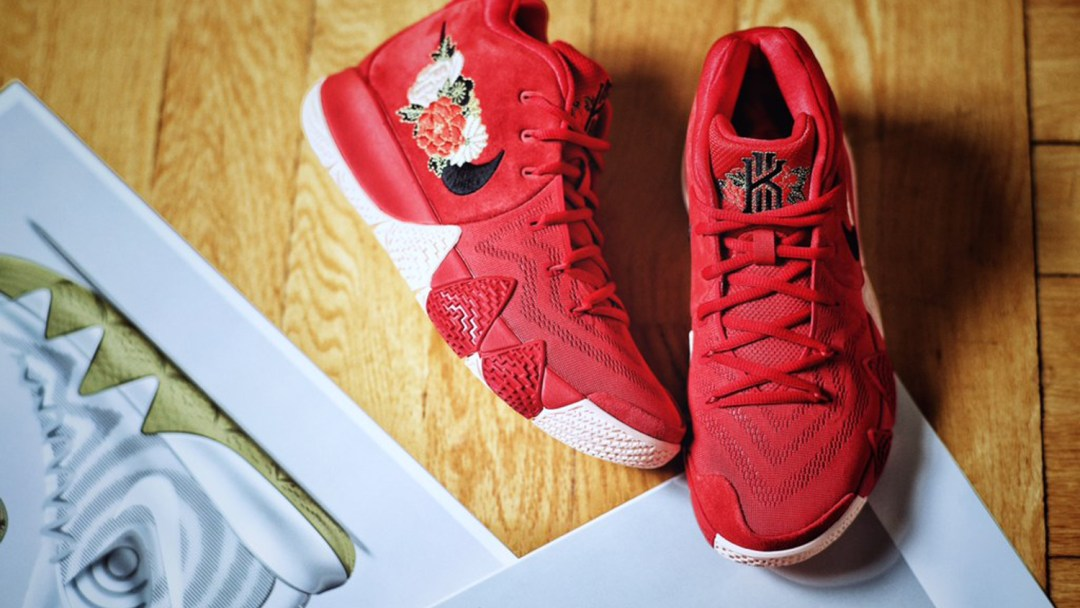 225b36c179b This Nike Kyrie 4  Chinese New Year  is Inspired by Fireworks ...