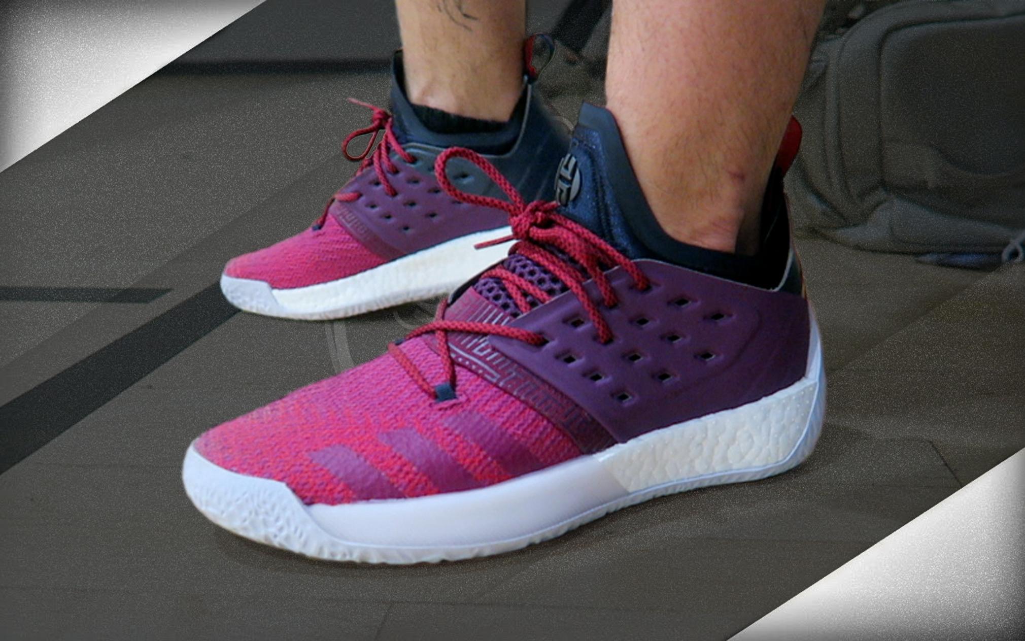 adidas PerformanceHARDEN - Basketball shoes - purple 9YKLELV
