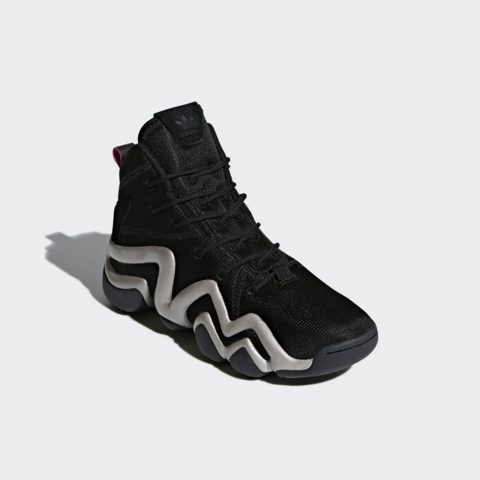 brand new b756b 65785 adidas crazy 8 adv black 4. Jan17