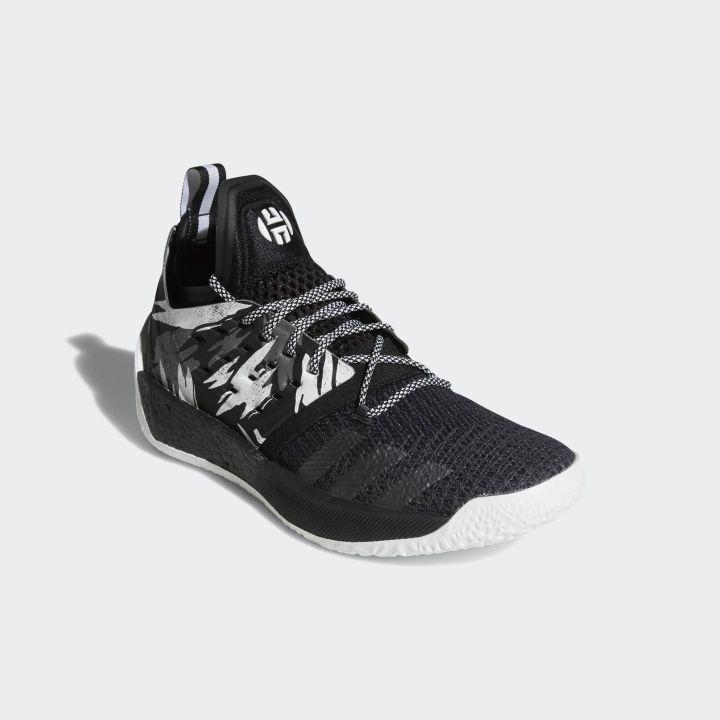 adidas harden vol 2 black white 2