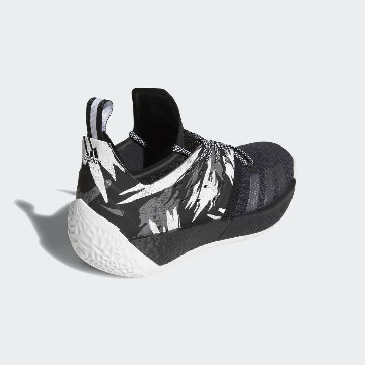 adidas harden vol 2 black white 3