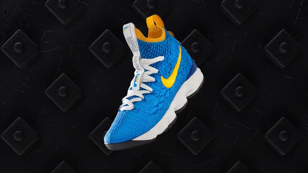 b1b2609ea58979 Last Night s Waffle Trainer-Inspired LeBron 15 PE Kicked Off Nike s ...